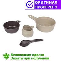Туристический набор посуды Wildo ADVENTURER KIT - DESERT / DARK GREY (67331)
