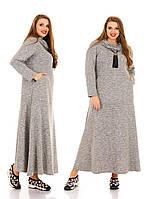 Женское Платье    больших размеров арт 1122 (48-74)
