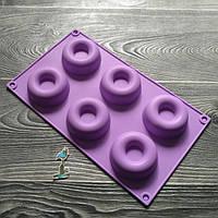 Форма силиконовая для евро-десетов Donuts