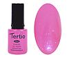 Гель лак Tertio 117, розовый с микроблеском, 10мл