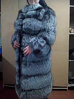 Шуба из чернобурки наша клиентка Людмила, фото 1