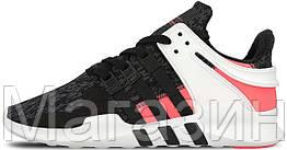 "Женские кроссовки Adidas EQT Support ADV ""Turbo Red"" (в стиле Адидас)"
