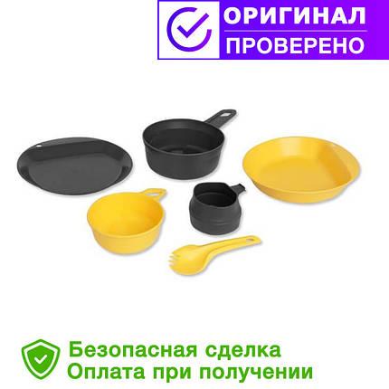 Туристический набор посуды Wildo EXPLORER KIT - LEMON / DARK GREY (67233), фото 2