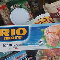 Тунец#в собственном соку-консерва(Италия)Rio-more 80g.