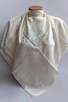 Турецкий атласный свадебный платок
