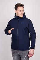 Молодёжная тактическая куртка синего  цвета