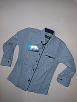 Рубашка детская для мальчика IKORAS от 7 до 12 лет.