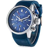Уиллис 8175 мужские Кварцевые часы Силиконовой лентой Синий