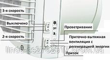 Проветриватель ТвинФреш Комфо РА1-25, рекуператор, приточно-вытяжная вентиляция, фото 3