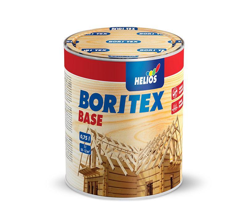 Грунтовочный антисептик для древесины BORITEX Base, 0,75л - интернет-магазин ФАРБИ-ІФ в Ивано-Франковске