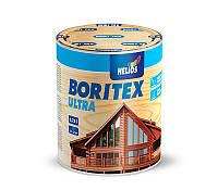Лазурь для дерева с содержанием воска BORITEX Ultra, каштан, 0.75л