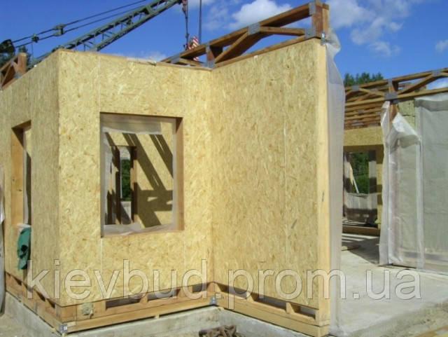 Строительство каркасных домов - ООО «Строительная компания «КИЕВБУДРЕЗЕРВ» в Киеве