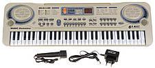 Детский синтезатор, с поддержкой MP3 и USB-входом, детское пианино., фото 3