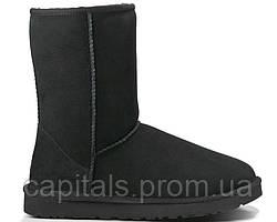 """Мужские сапоги UGG Classic Short """"Black"""""""