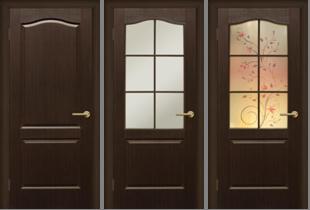 Двери МДФ, покрытие ПВХ
