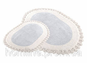 Набор ковриков для ванной Irya Despina 60*90+40*60 серый