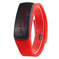 Спортивные светодиодные цифровые часы для мужчин и женщин Красный