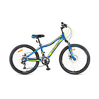 "Детский велосипед Avanti Drive 24"" сине-желтый"