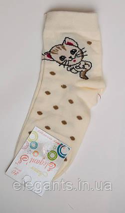 Носки для девочек (20 размер) / 7-8 лет /90% хлопок, фото 2