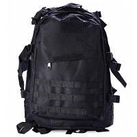 Мужской 3D Военный рюкзак для спорта на открытом воздухе Чёрный