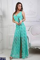 Женское платье макси нарядное
