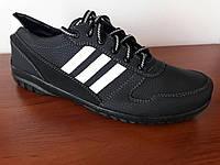 Туфли мужские черные спортивные (код 2685), фото 1