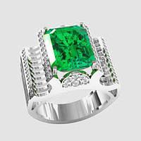 Кольцо серебряное Тиффани ВKE-1597