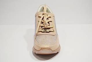 Кроссовки с украшением из стекляруса Alpino 0537, фото 3