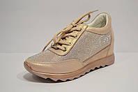 Кроссовки с украшением из стекляруса Alpino 0537