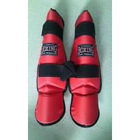 Boxing Защита ног (голень/стопа) №1/Ю синтетика