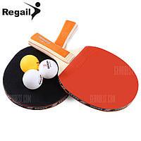 № A508 размещаются REGAIL настольный теннис пинг-понг ракетки набор Оранжевый