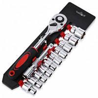 12шт 1/4-дюйма (6,3 мм) гнездо комплект ключ Храповика удлинитель инструменты для ремонта автомобиля 25136