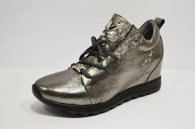Кроссовки серебристые Alpino 0583, фото 2