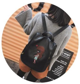 Рюкзак женский с вышивкой Весна 2019