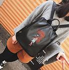 Рюкзак женский с вышивкой Весна 2019, фото 3