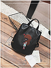 Рюкзак жіночий з вишивкою Весна 2021, фото 4