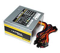 Блок питания Chieftec 500W GPA-500S8, 120 mm, 1x4pin, SATA х 3, 1x6+2pin, кабеля немодульные