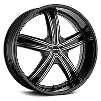 MKW M103 Gloss Black with Machined Face