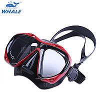 КИТ близорукости дальнозоркости Подводное дайвинг маска очки Красный