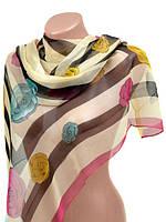 Платок шарф шифоновый