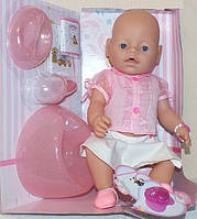Кукла Пупс Baby born 8006-7 9 функций и 10 аксессуаров