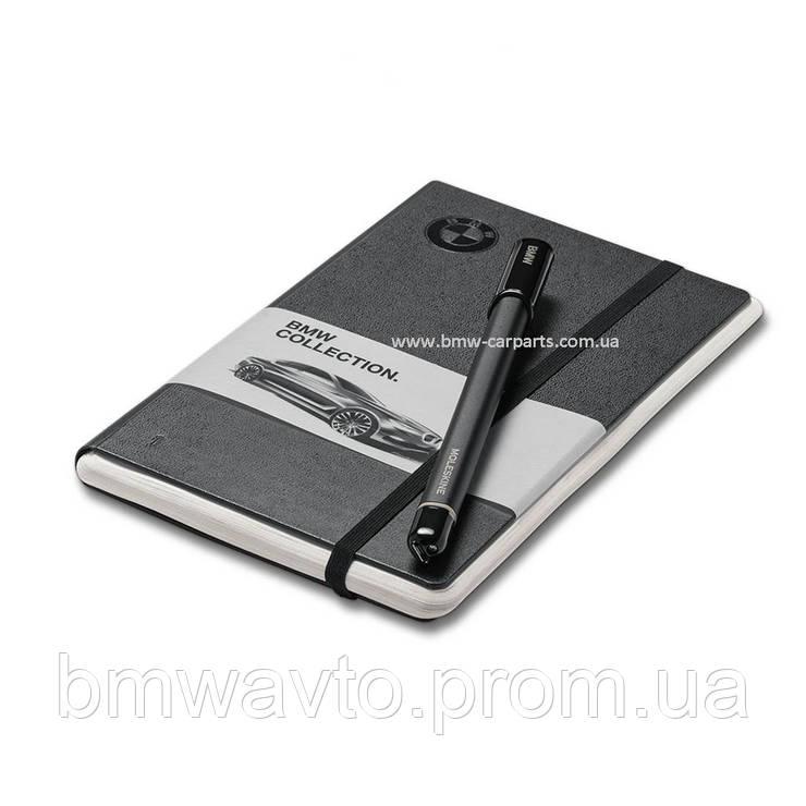 Набор блокнот и цифровая ручка BMW Smart Writing Set by Moleskine 2017, фото 2