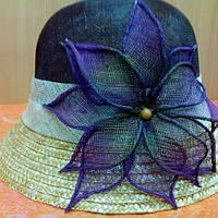 Шляпы женские натуральная солома