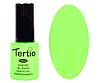 Гель лак Tertio 138, зеленый неоновый, 10мл