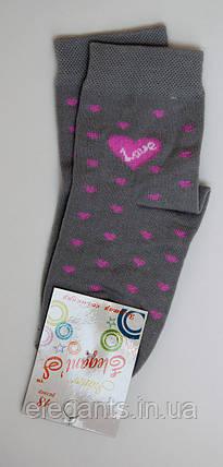 Носки для девочек (18 размер)/ 5-6 лет / 90% хлопок, фото 2