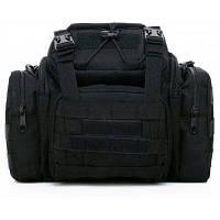 16л Тактическая многоцелевая сумка с ремешком для наружного использования Чёрный