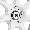 MOTEGI RACING MR126 Matte White with Milled Accents, фото 3