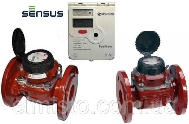 Счетчик тепла Sensus PolluTherm/WPD 80-45/WPD 80-45 с двумя расходомерами (Словакия-Германия)