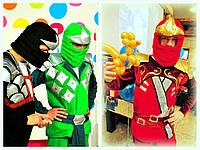 Аниматоры Лего Ниндзяго на детский праздник,самураи Ллойд, Коул, Кай, Киев. , фото 1
