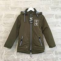 Демисезонная куртка на мальчика 10-16 лет,  коллекция 2018,